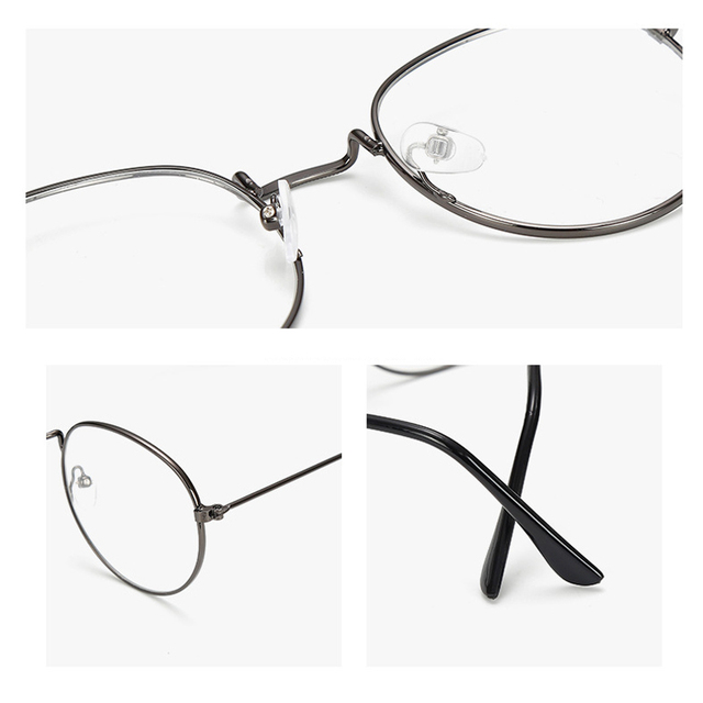 Ultralight Round Metal Frame Glasses 2