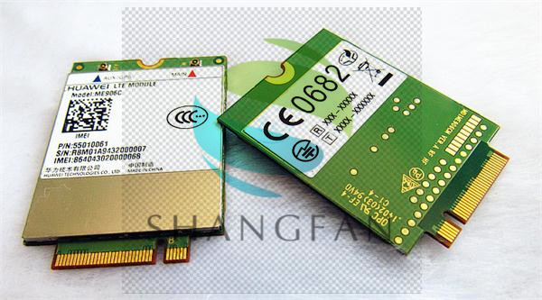 shipping for HUA WEI ME906C 4G Original Genuine Distributor FDD LTE 75-pin M.2/NGFF surpport GPS Module telit ln930 dw5810e m 2 twh3n ngff 4g lte dc hspa wwan wireless network card for venue 11
