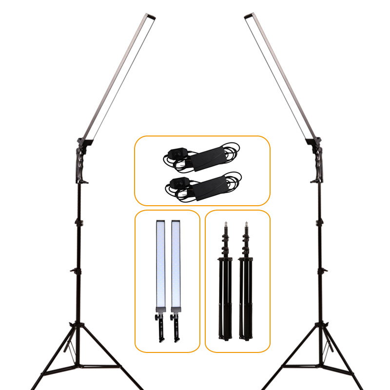 GSKAIWEN Professional Dimmable Photography Photo Studio Phone Video LED Lighting Lamp With Tripod Stand For Camera