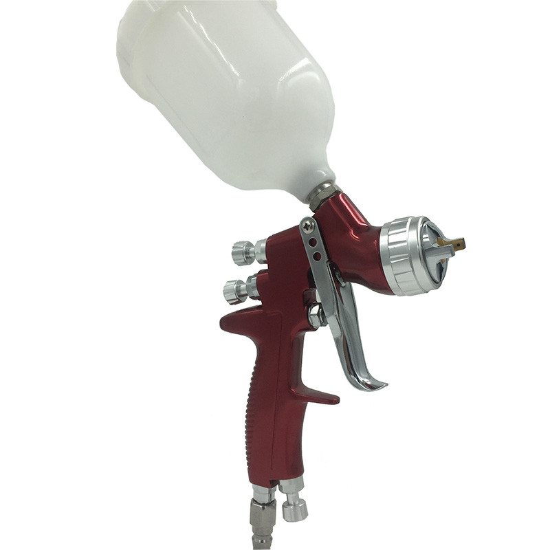 цена на SAT0078 Professional LVMP Spray Gun High Quality Air Paint Spray Guns Airbrush For Painting Car Cloundtop Airbrush Paint Gun