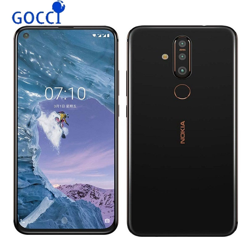 NEW NOKIA X71 6 39 inches 3500 mAh snapdragon 660 6GB 64GB 128GB Zeiss Certified Postpositioned