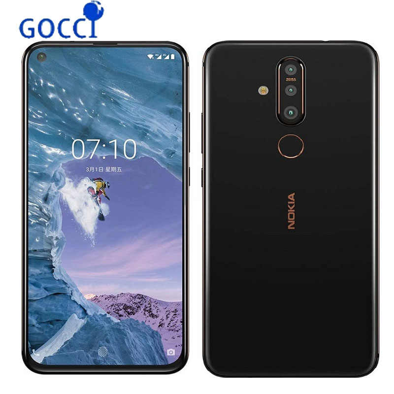 NEW NOKIA X71 6.39 inches 3500 mAh snapdragon 660 6GB+64GB/128GB Zeiss Certified Postpositioned Three-Photo  Global ROM