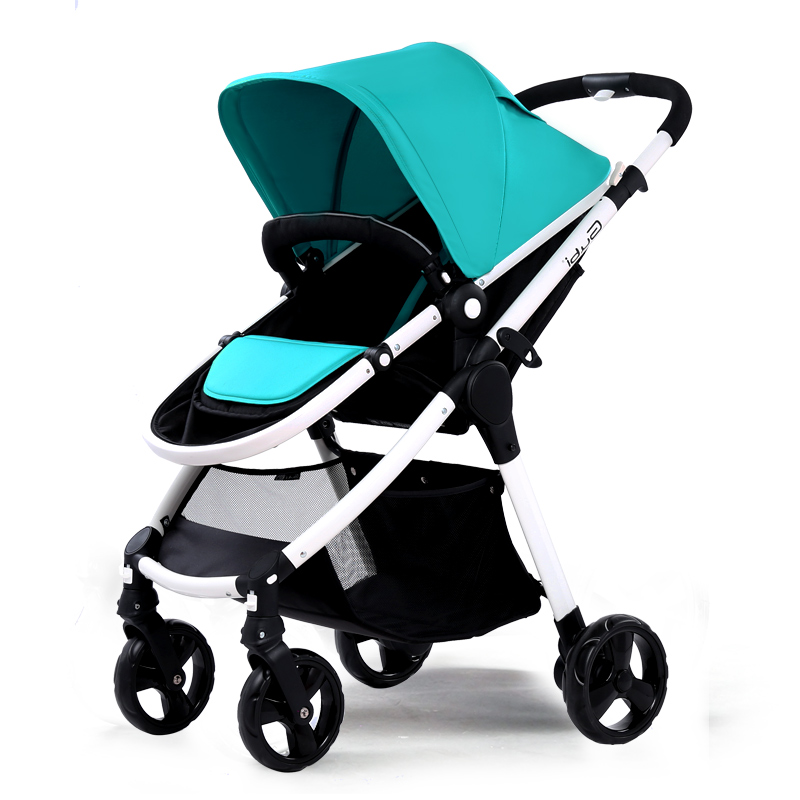 Gubi Baby Stroller can sit and lying Umbrella carts Light Folding Stroller ond hand fold fold baby stroller one hand fold portable baby carriage can sit and lie umbrella cart with travel bag 5 8kg baby stroller