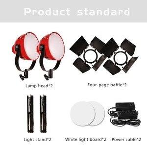 Image 4 - GSKAIWEN High CRI 92+ LED Photography Lights Camera Light Professional Studio Tripod Brightness Adjustable Video Fill Light kit