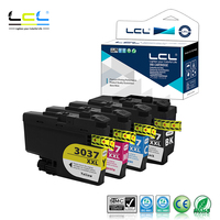 LCL B-LC3037BK Pigmento LC3037XL C M Y (kcmy 4-Pack) cartucho de tinta pigmentada Compatível para O Irmão MFC-J5845DW MFC-J5845DW