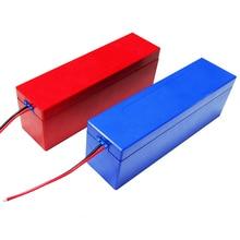 13S 4P 48V 10Ah boîtier de batterie au Lithium pour 13S4P 18650 batterie pack comprend support et nickel peut être placé 52 pièces cellules