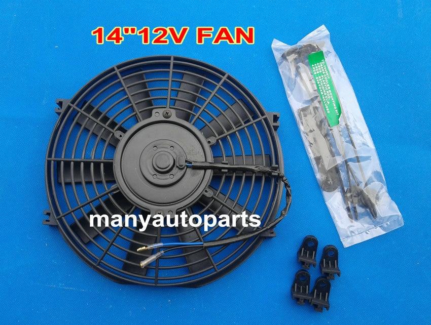 14 U0026quot  Inch Electric Universal Auto Cooling Radiator Fan Hot