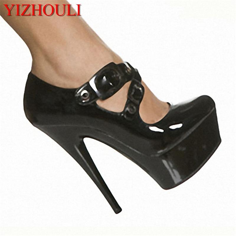 15 см супер Обувь на высоком каблуке с водонепроницаемые тонкие туфли кожа мелкой низкая обувь рабочие туфли