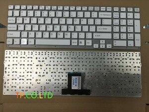 Бесплатная доставка, новая клавиатура для США для Sony vaio VPCEB36FG VPCEB4J1R, VPCEB, VPC, EB, белая, США, без рамки, для VPC, EB, vceb36fg, vc4j1r