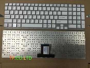 Бесплатная доставка новая американская клавиатура для Sony vaio VPCEB36FG VPCEB4J1R VPC-EB VPCEB VPC EB pcg-71211v белый US без рамки