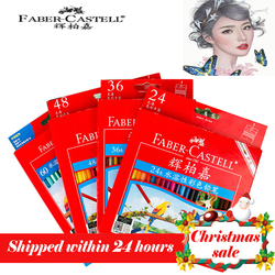Faber castell 72 Colors Water Colored Pencil Painting Colorful Watercolor Pen Student Supplies Paint Pencils for Drawing Sketch