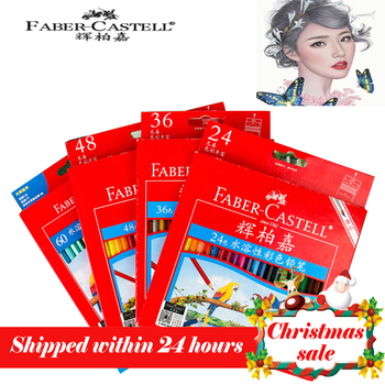 Faber castell 72 Colors Water Colored Pencil Painting Colorful Watercolor Pen Student Supplies Paint Pencils for Drawing Sketch deli 24 36 48 72 colors pencil water color pencils painting pencil colorful pencil watercolor pen student supplies paint pencil