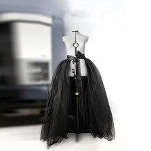 détachable jupe noire gonflée