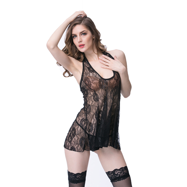 74bb831fe Good night wear porno dress transparent underwear women lingerie sexy hot  erotic fantasia