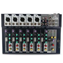 Профессиональный 7-канальный этап студийная Аудио микшер с USB микшерный пульт для DJ КТВ