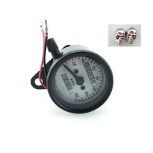 Motorcycle vehicle meter/Vintage odometer hot sell gift 2 Valve cover
