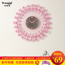 decoration dies Decorative Wall clock The living room wall clock creative brief decoration watch watch bedroom is modern Europea