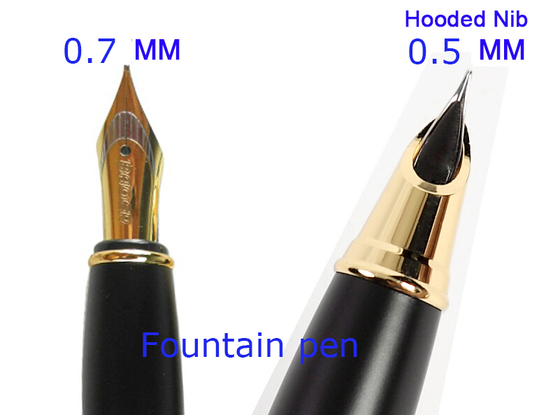 RollerBll Pen OR Fountain Pen Original Baoer 701 executive stationery set student supplies Free Shipping