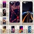 Colorful phone case para zte blade s6 case capa tpu macio para trás 3d cover coque para fundas zte blade s6 phone case de silicone móvel