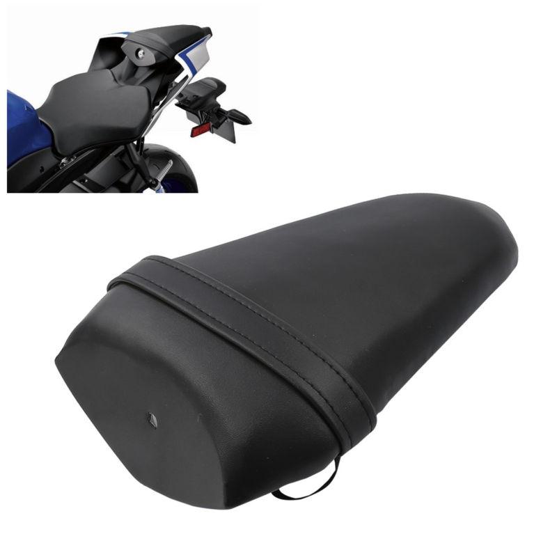 Black Rear Pillion Passenger Tandem Seat Cushion For Yamaha 2015-2018 YZF R1 16