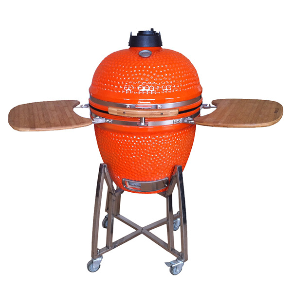 High Quality Outdoor Pizza Oven Charcoal Bbq Grill Wood Burning Stove Cermic 18inch