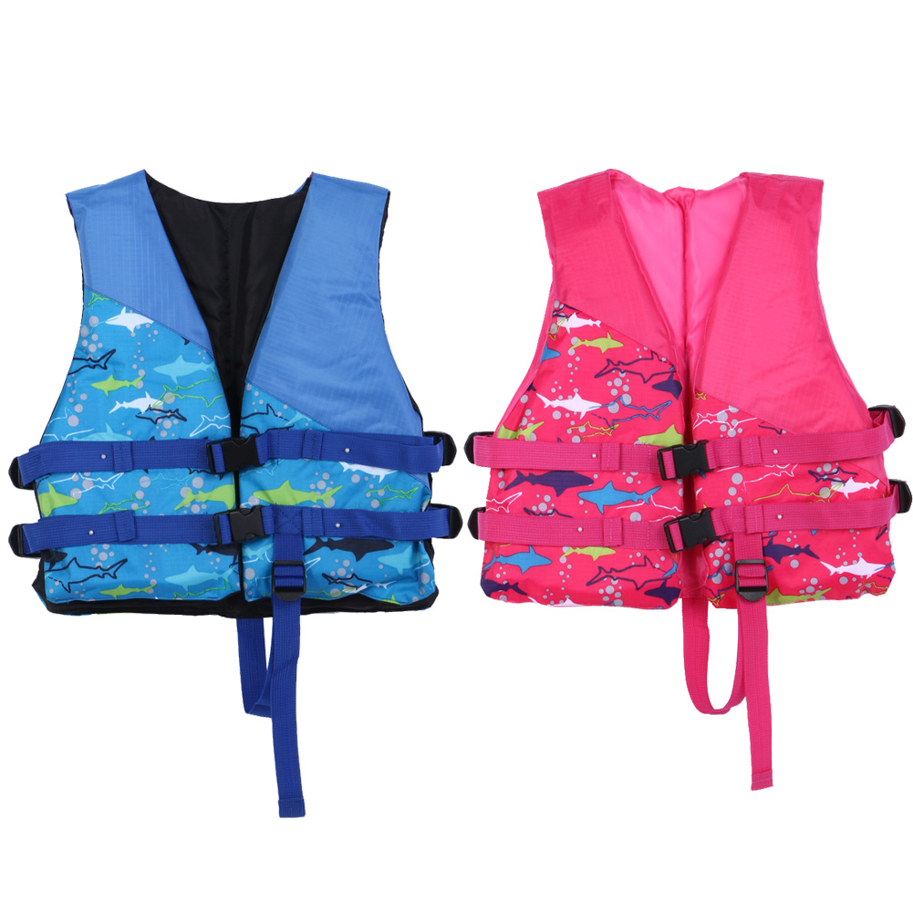 Water sports life vest inflatable swimmer jackets children for Inflatable fishing vest