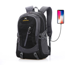 40L Outdoor Sports Mountaineering Backpack Hiking Camping Water Resistant Nylon Travel Luggage Cycling Rucksack Bag