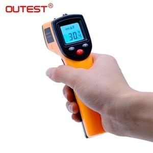 Image 2 - Digitale Infrarood Thermometer Themperature Pyrometer Ir Laser Point Gun Non Contact 330 Graden GM320