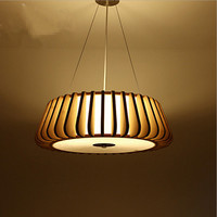Creative restaurant meal lamp living room lamp headlight lamps Nordic atmosphere Japanese bamboo chandelier bedroom lamp chandel