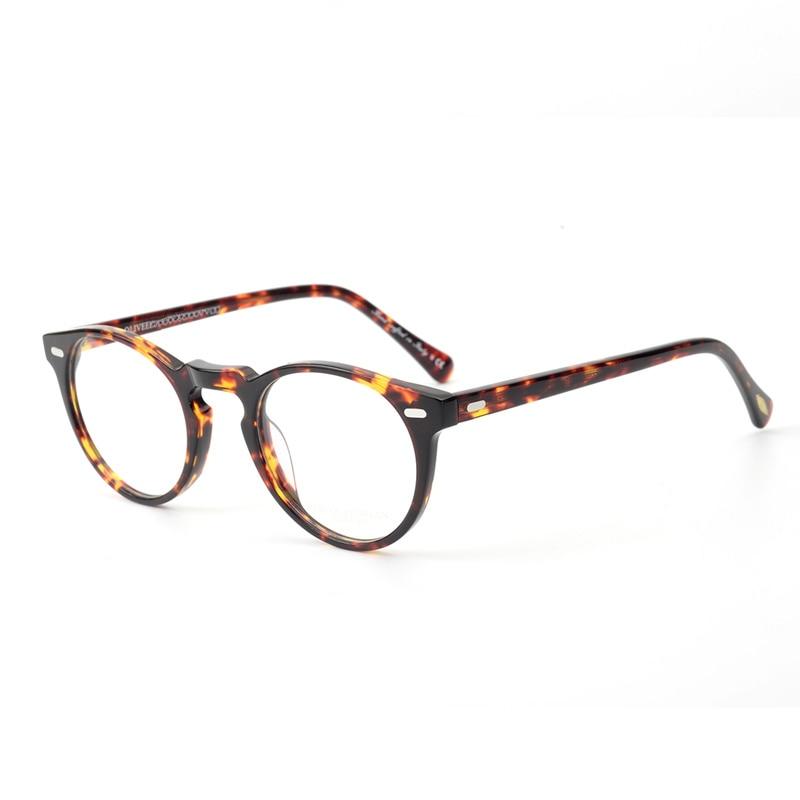 Comprar Óculos Vintage Mulheres OV5186 Claras Óculos de Armação Homens  Óculos Redondos Frame Ótico para a Lente Da Prescrição Óculos Redondos  Baratas Online ... 94cec856c3
