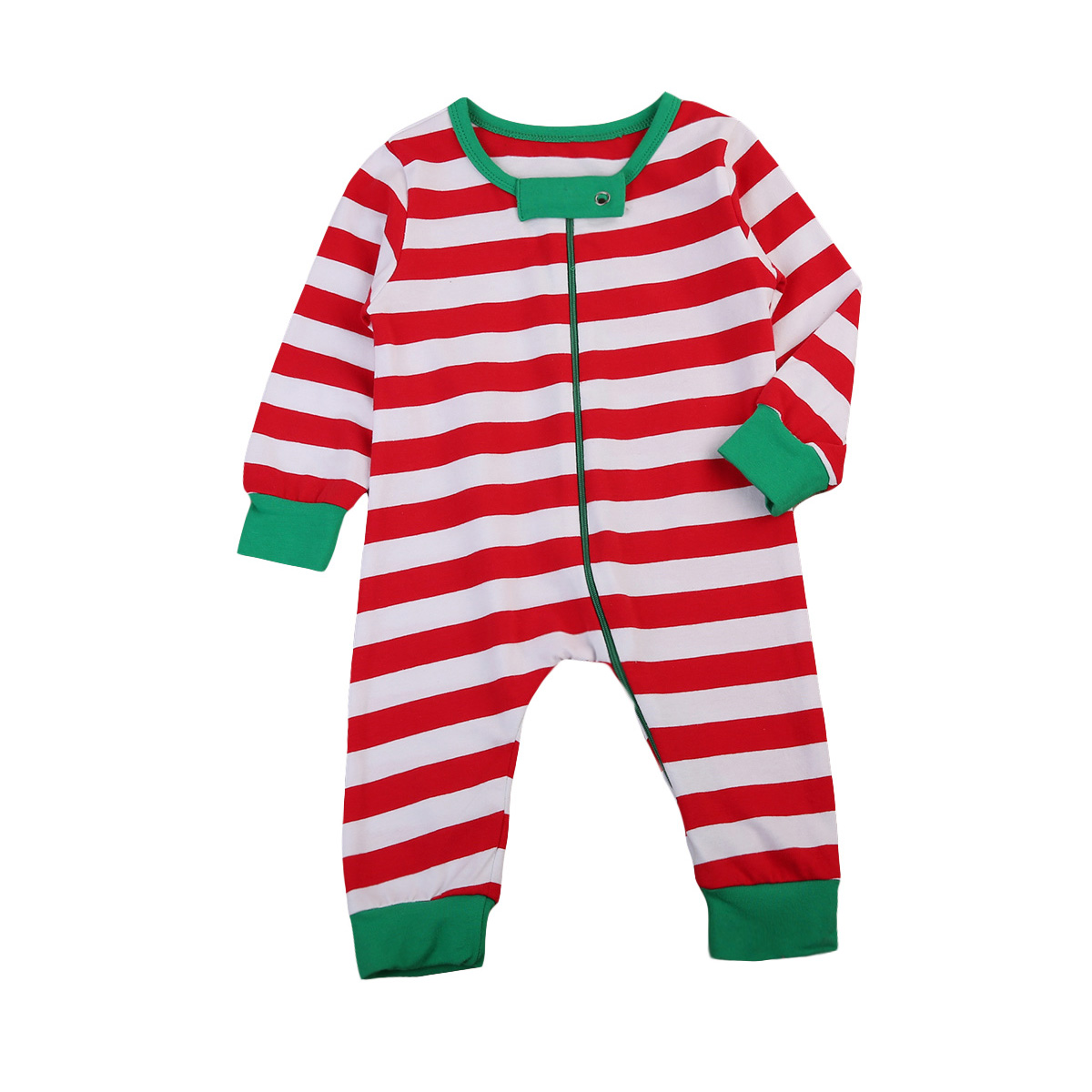 Merry Christmas Newborn Baby Boys Girls Infant Clothes Cotton Long Sleeve Stripes Romper Xmas Clothes Outfits Clothing Sunsuit newborn infant baby girls boys long sleeve clothing 3d ear romper cotton jumpsuit playsuit bunny outfits one piecer clothes kid