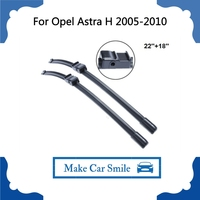 Wiper Blade For Opel Astra H 2005-2010 22''+18'' Car Auto Accessories For Auto Rubber Windscreen Wipers