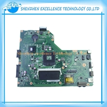 For Asus Notebook Motherboard X54C K54C REV 2.1 System pc Mainboard with ram on board Original