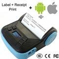 5 шт. 80 мм мини Bluetooth тепловая чековый принтер, Портативный 80 мм Bluetooth мобильный принтер, Поддержка android-ios мобильных телефонов _ DHL