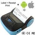 5 unids 80 mm mini Bluetooth impresora térmica de recibos, Portable 80 mm Bluetooth Mobile impresora, soporte Android IOS teléfonos móviles _ DHL