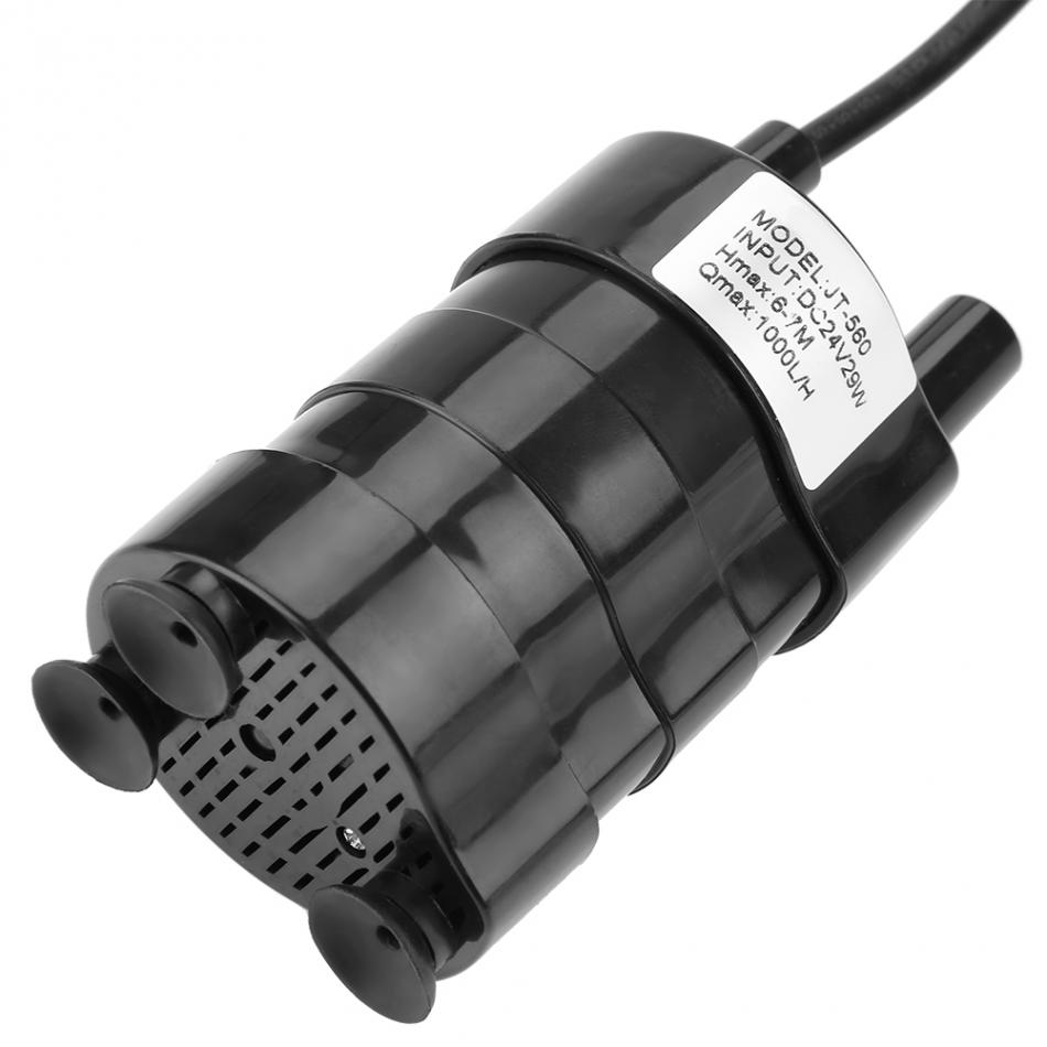 24V Mini High Hydraulic Head Brushless Boost DC Water Pump 1000L//H 40℃-100℃ Flow Water Pump