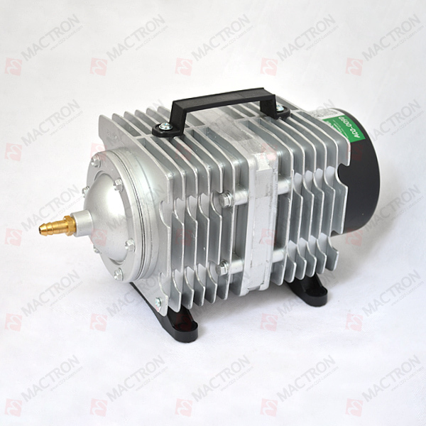 135W Air compressor/ pump for CO2 laser AC110V 13mm male thread pressure relief valve for air compressor