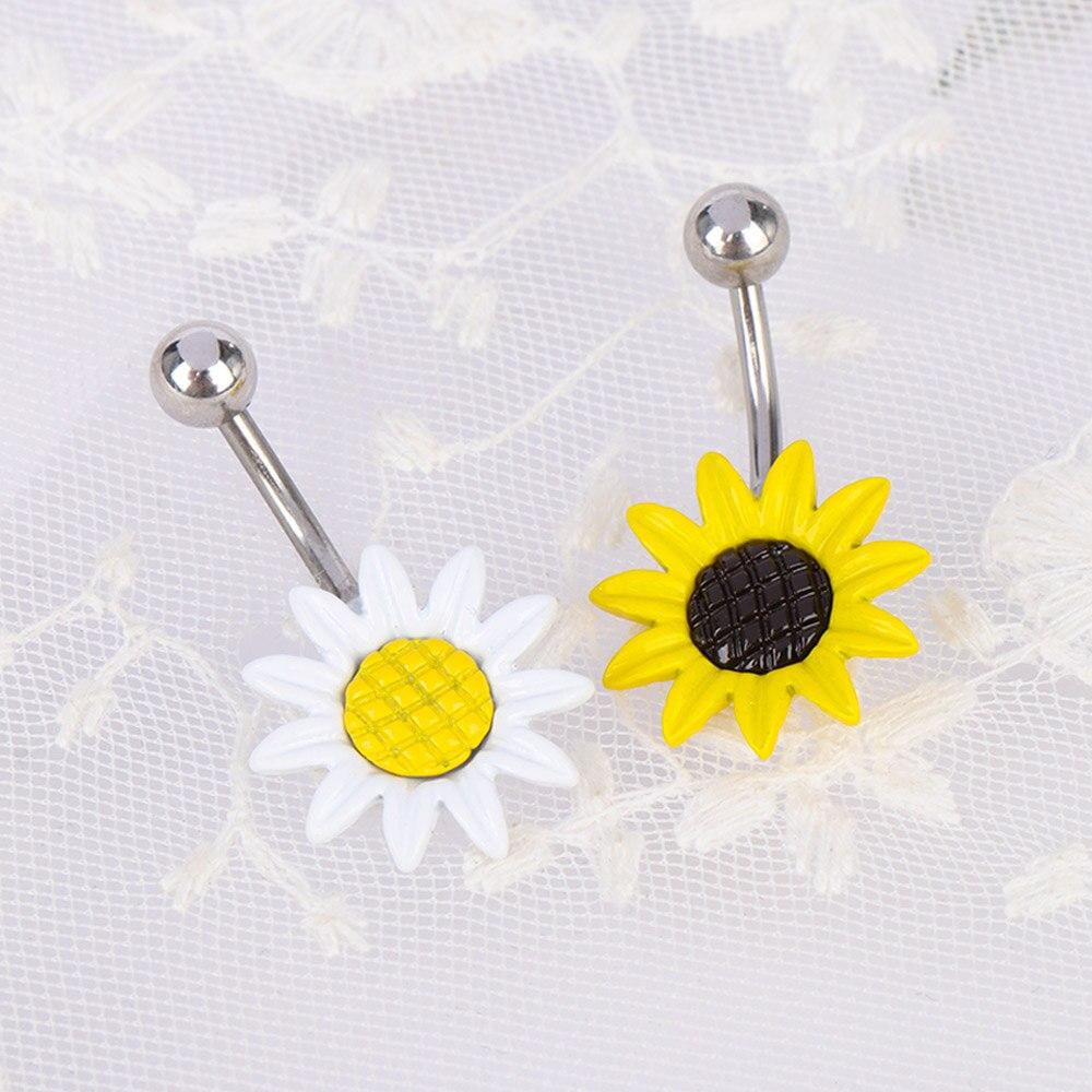 Jewelry Watches Body Piercing Jewelry Sunflower Body Piercing