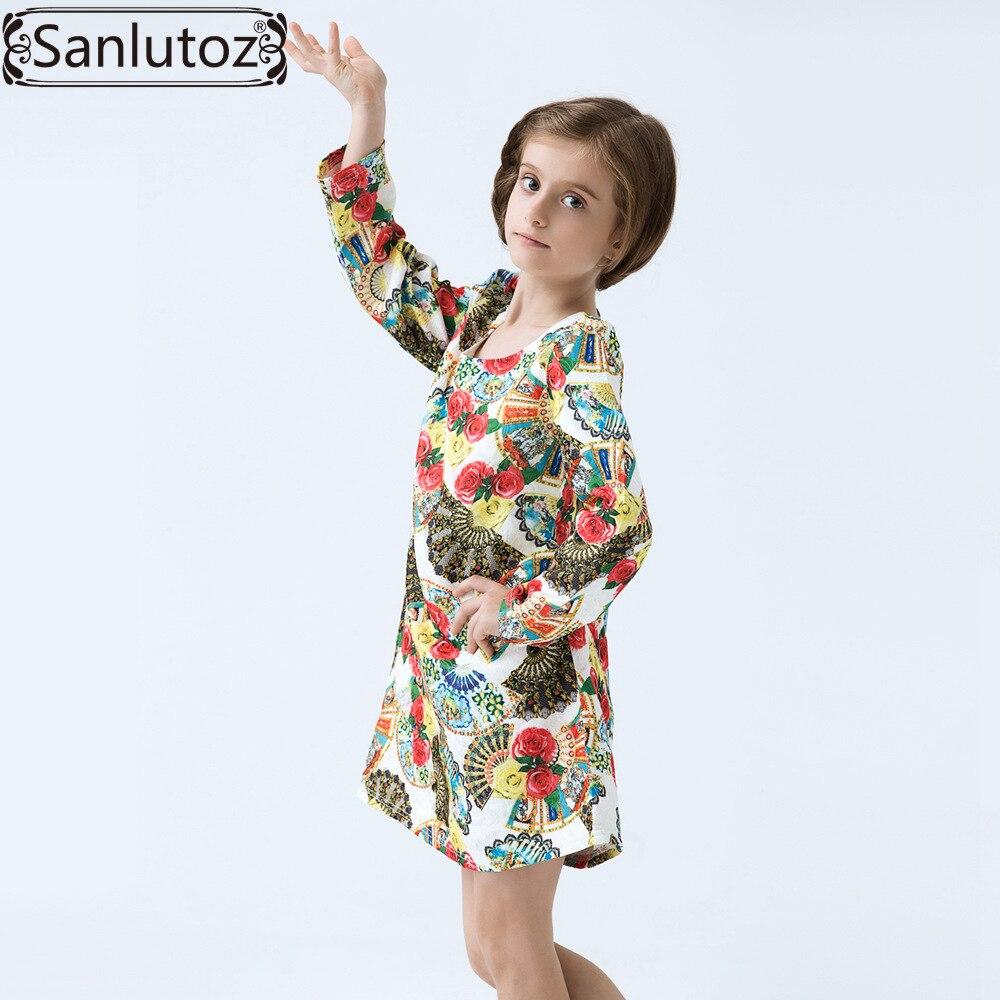 Mädchen Kleid Blumenkinder Kleidung Marke Winter Kinder Kleidung für ...