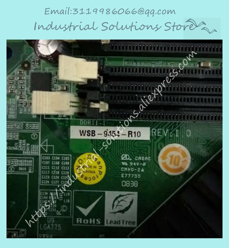 WSB-9454-R10 REV:1.0 Industrial Board 100% tested perfect qualityWSB-9454-R10 REV:1.0 Industrial Board 100% tested perfect quality