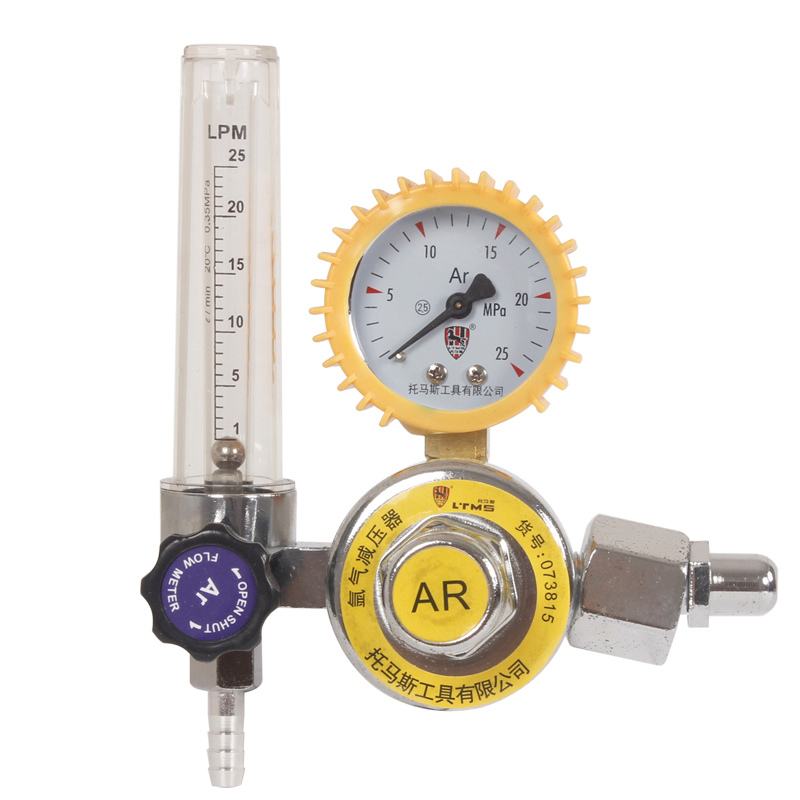 High Quality Argon Gas Mig Tig Flow Meter Welding Regulator Gauge Welder Cga320 Fit Tester Alloy Steel 073809-15 high quality 1 4pt thread 7mm barb argon gas flow meter welding weld regulator 0 15 mpa