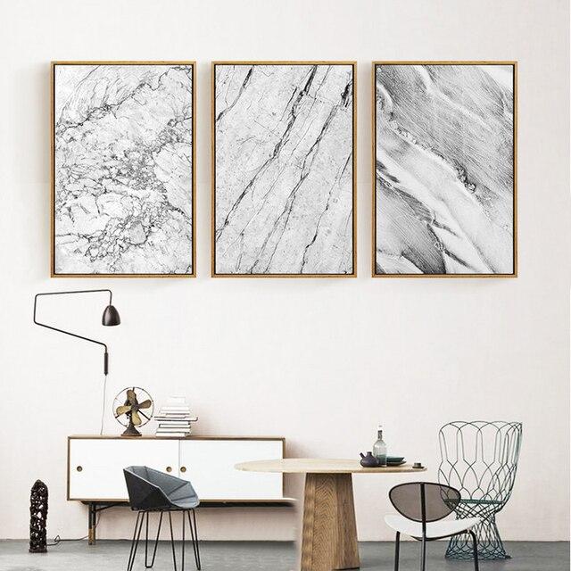 Abstrakte Marmor Textur Wandbild Nordischen Stil Leinwand Ölgemälde Bild  Moderne Wandkunst Poster Pictrues Für Wohnzimmer Dekor Design Ideas