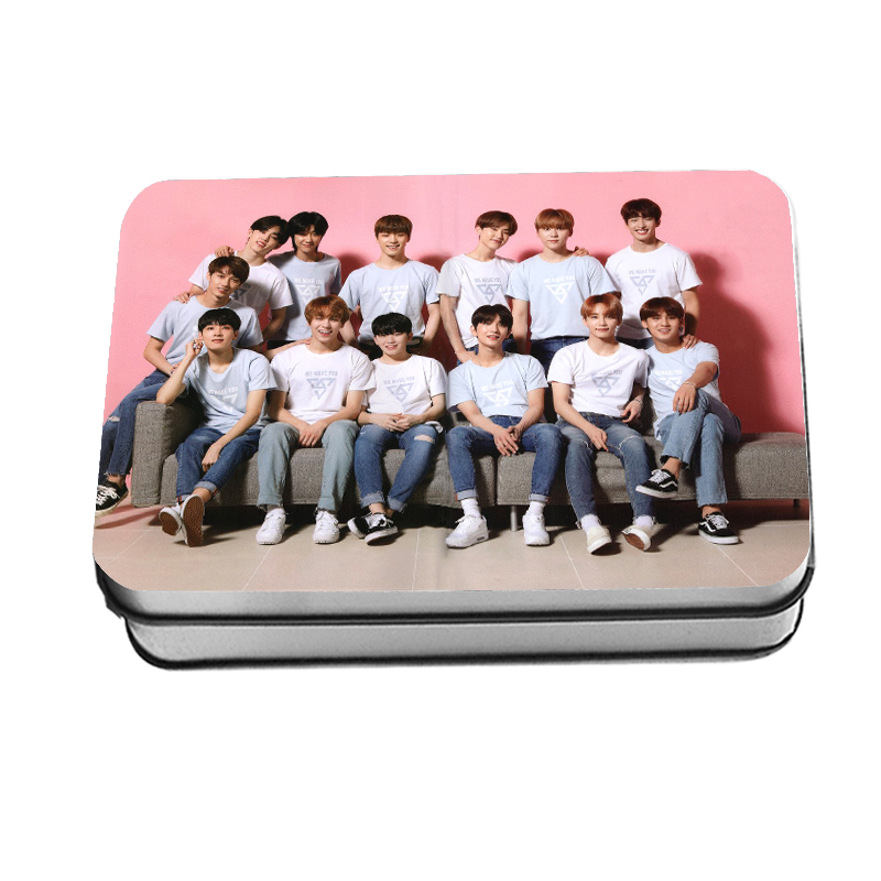 Jewelry Findings & Components Beads & Jewelry Making Kpop Drop Shipping Seventeen Fans Gifts Girls Birthday Gifts Seventeen 2019 New Fashion Lomo Card 40piece /set