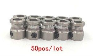 Image 2 - 50 pces mk8 unidade engrenagem de aço inoxidável para 1.75mm & 3mm impressora 3d reprap filamento extrusora