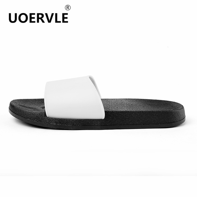 UOERVLE 2017 Summer Men Slippers House Bathroom Slides Indoor ...