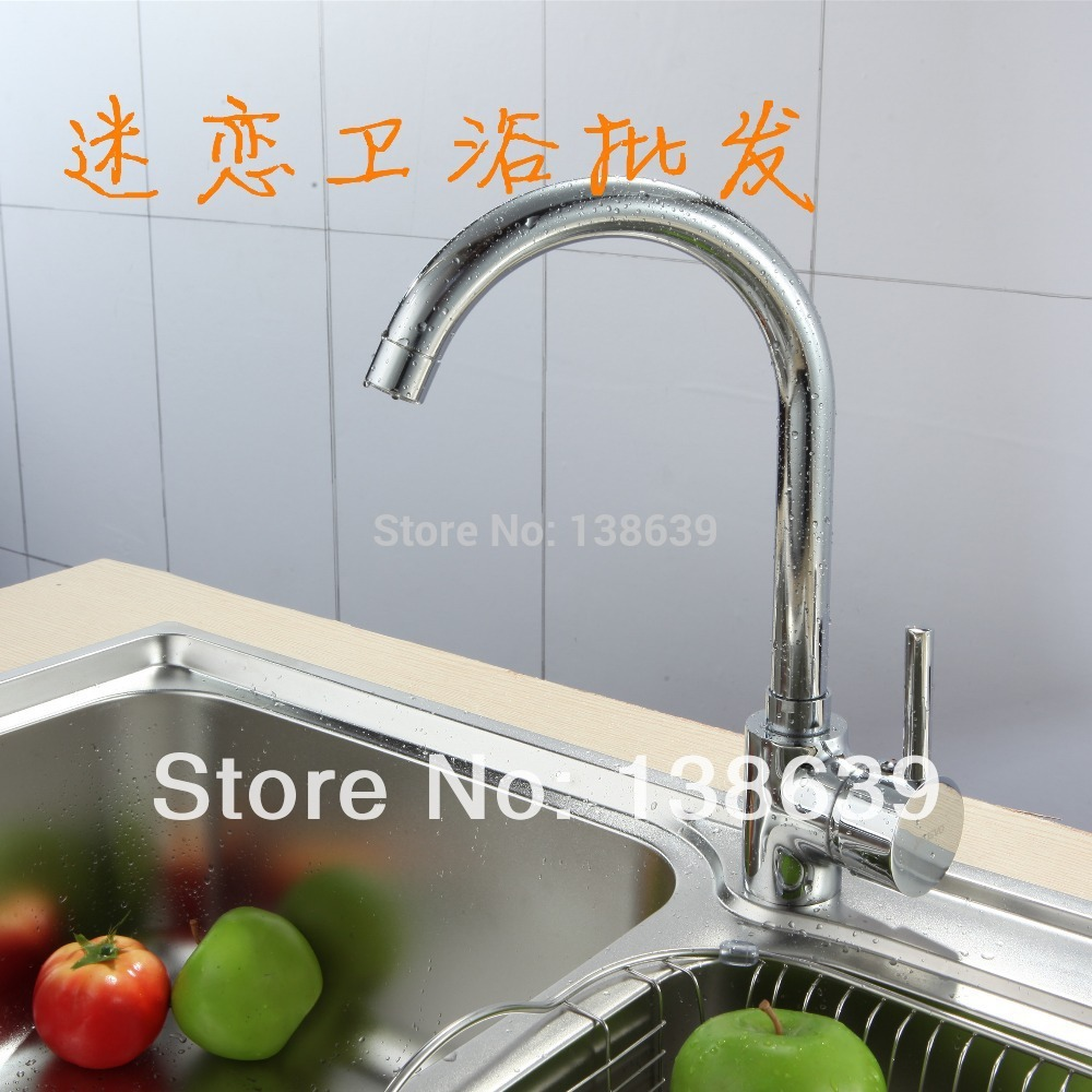 free shipping 360 degree rotating copper kitchen faucet hot and cold water vegetables basin sink square
