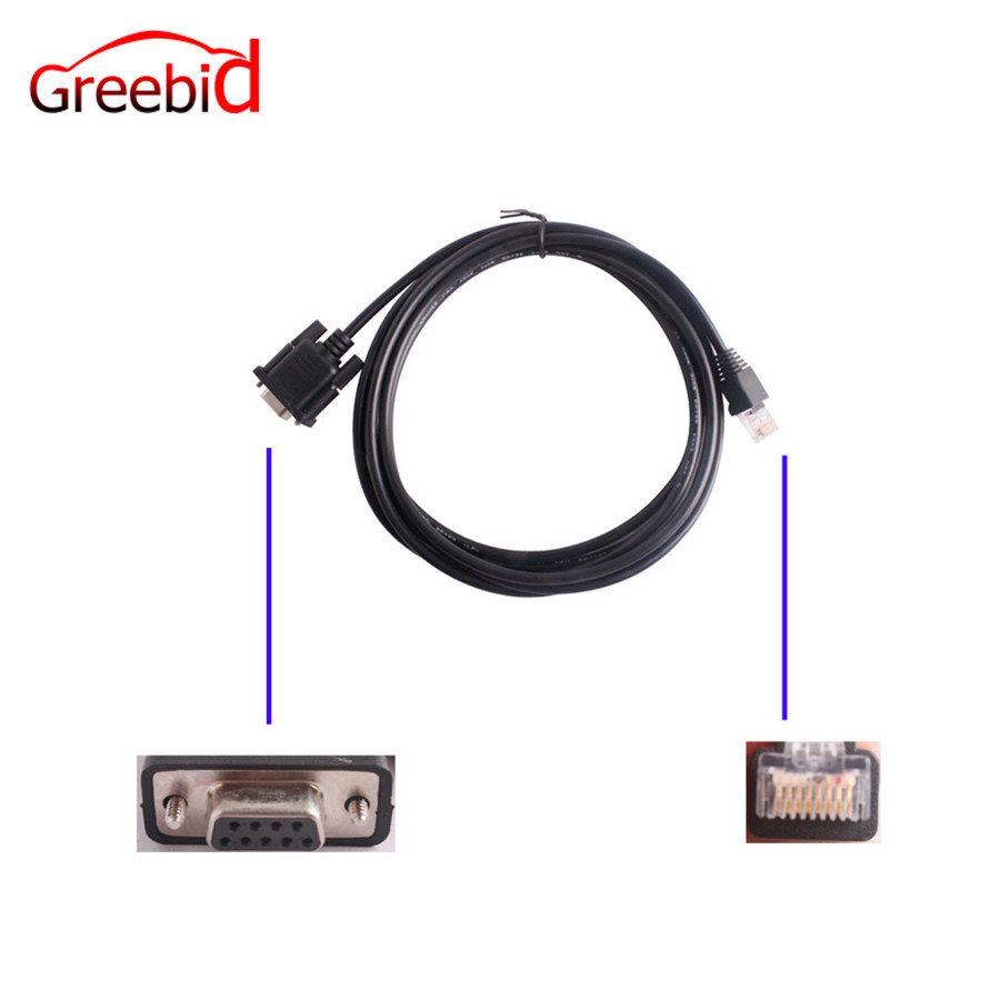 RS232 to Lan Cable for Honda HDS Him Diagnostic System