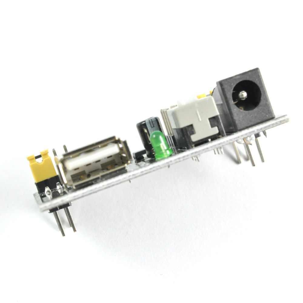 Для микро: бит микробит Макет Блок питания 3,3 В 5 в MB102 Solderless Хлеб доска DIY FZ0048