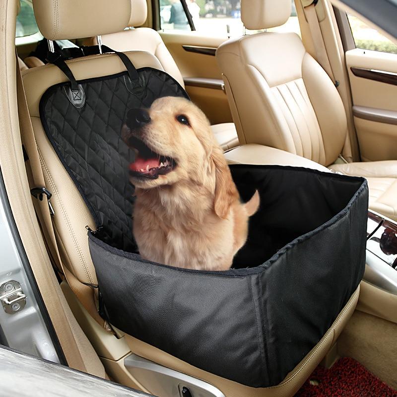 Fine Joy Dog Car Seat Cover Waterproof Dog Bag Carrier Dog Carry Bag Pet Seat Cover For Travel 2 In 1 Carrier Bucket Basket