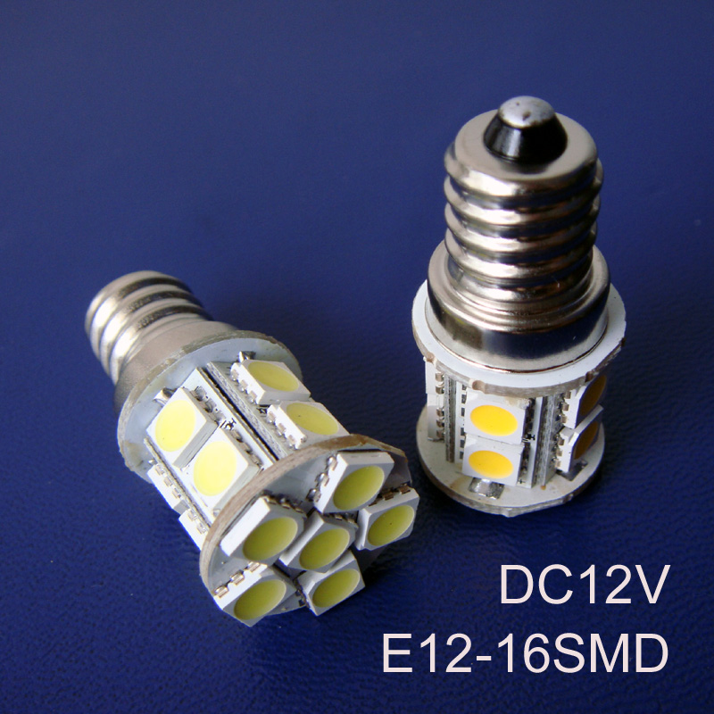 Light Bulbs High Quality Dc12v E12 Led Lamps,e12 Led Lights Led E12 Bulbs 12v Free Shipping 100pcs/lot Agreeable To Taste